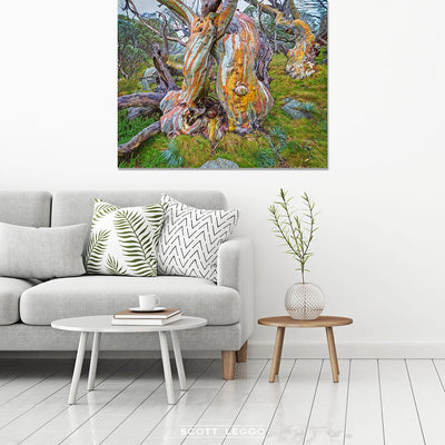 Twisted Beauty - canvas wall art preview
