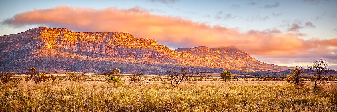 Wilpena Waking - Wilpena Pound, Flinders Ranges, South Australia