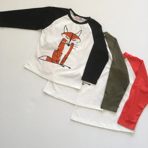 Fox Fox Long Sleeve Tee