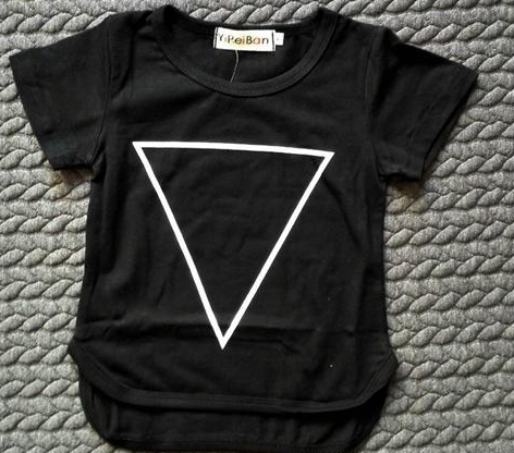 Triangle down Short Sleeve T-shirt