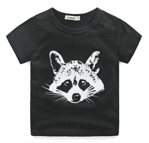 Heres Looking at you Kid Racoon t-shirt