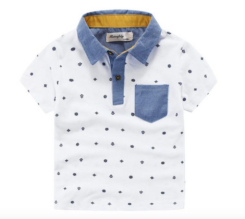 Nautical Pocket Polo Shirt