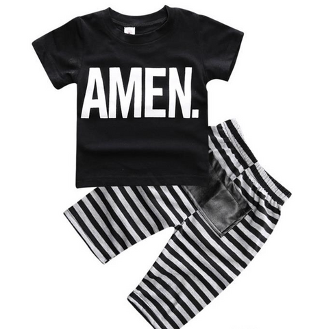 Amen Short Sleeve T-shirt