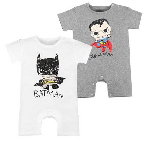 Batman and Superman Summer Suit