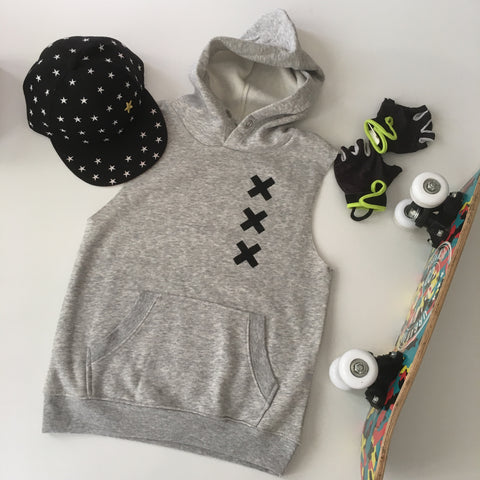 Boys Hooded Vest