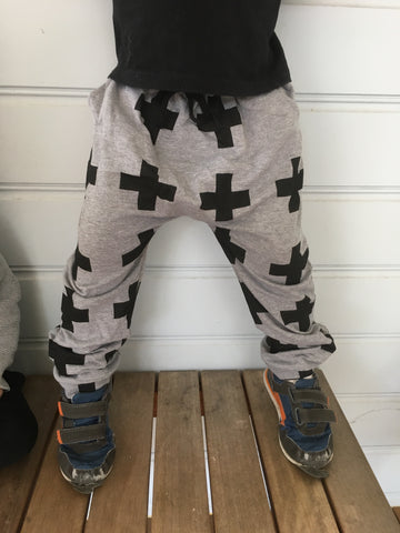 Boys Cross Harem Pant