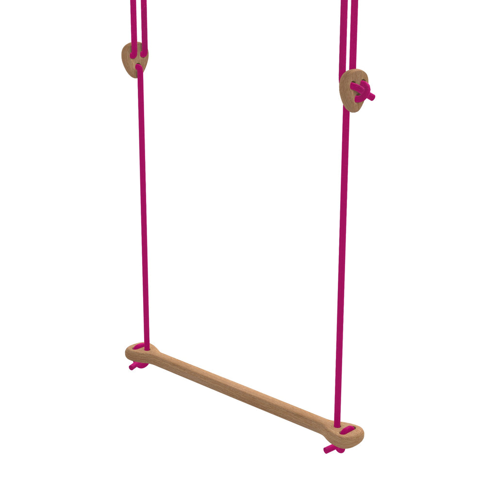 Lillagunga Bone - Oak - Fuchsia