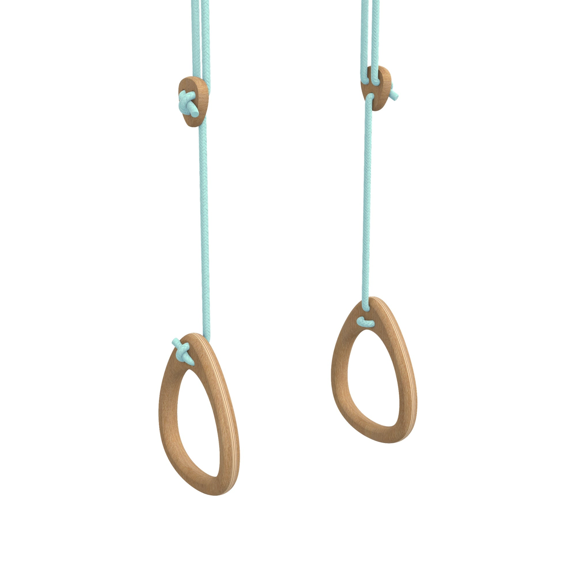 Lillagunga gym rings - Oak - Mint