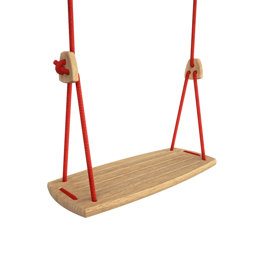Wooden design swing, for adults, Lillagunga Grand Oak
