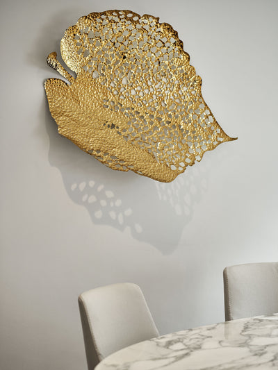 Gold Leaf - 5mm Interior Design Inspiration