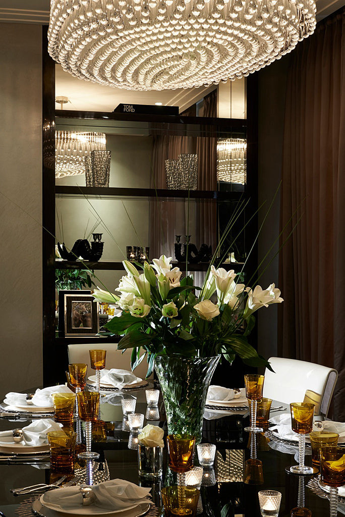 Dining Room Interior Design - Mayfair Apartment - 5mm Design Store London