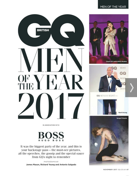 GQ Men Of The Year VIP Goodie Bag - 5mm Design Store London