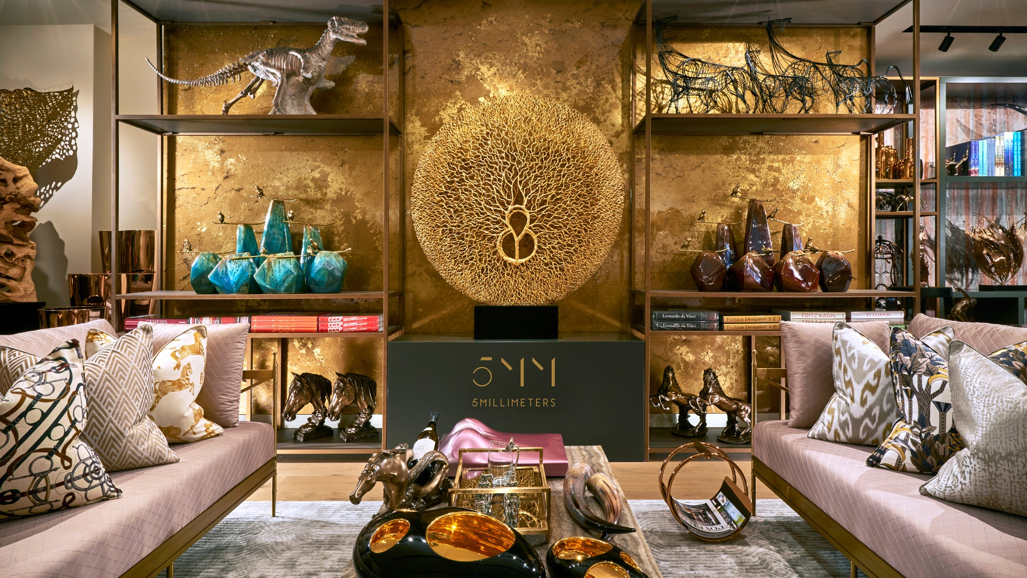 Retail Interior Design | Sculptures & Furniture | 5mm Design Home Accessories Shop | 5mm Design Store London