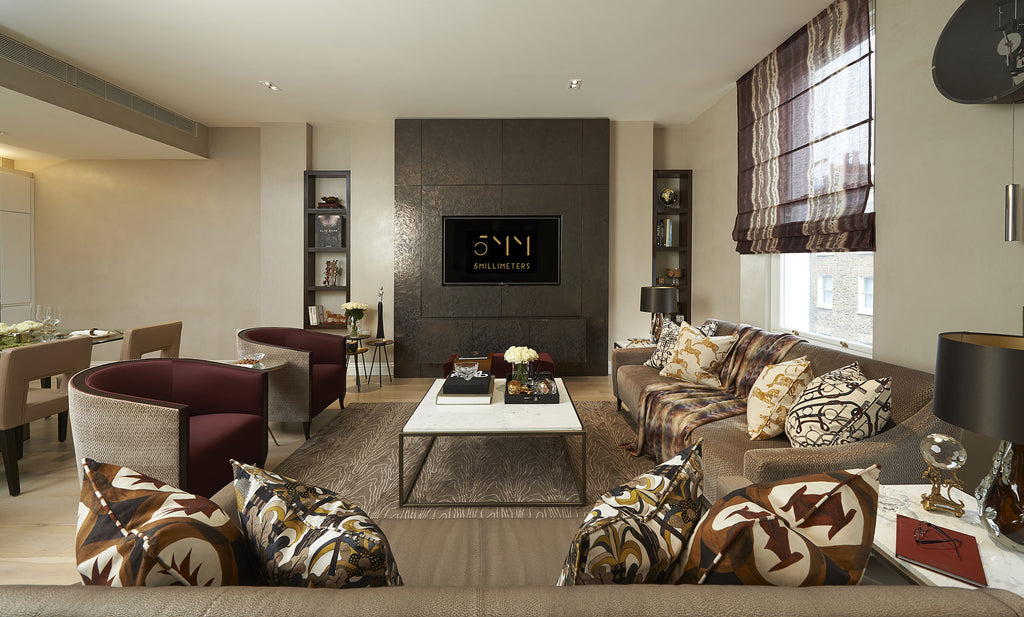 Living Room Design - Soft Furnishings & Home Accessories - 5mm Interior Design Guide