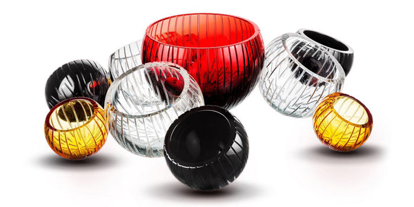 Supernova Crystal Bowl - Luxury Home Accessories & Dècor - 5mm Design Store London