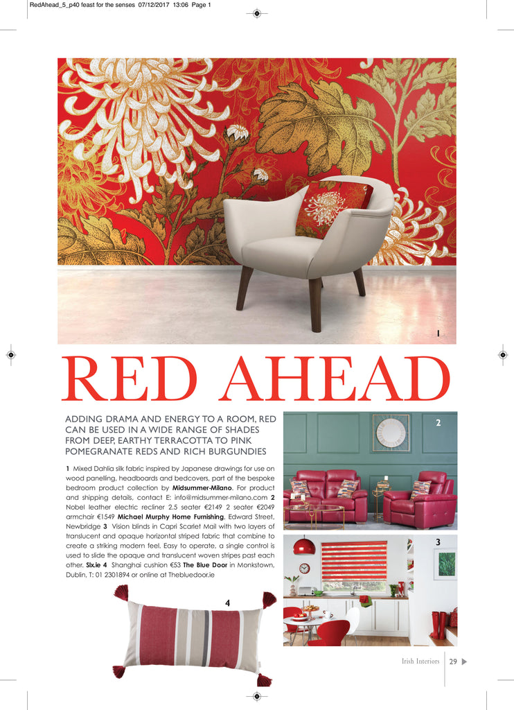 Irish Interiors Magazine Press Coverage - 5mm Design Store London