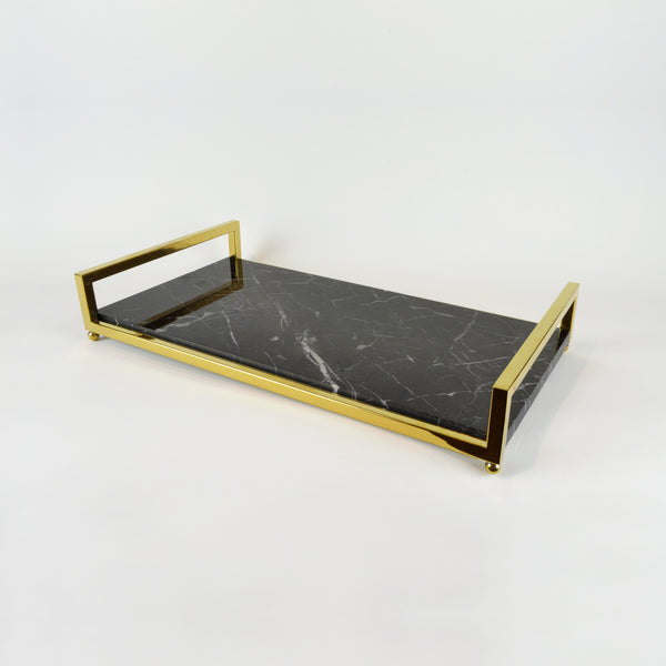 Deco Marble Tray - Barware & Accessories - 5mm Design Store London