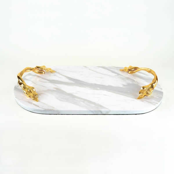 Vine Marble Tray - Barware & Accessories - 5mm Design Store London