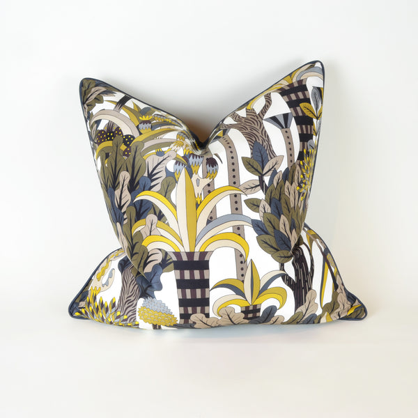 Hermes Forest Cushion - Home Accessories - 5mm Design Store London