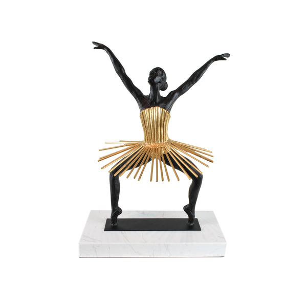 Zinc Ballerina Sculpture - Home Accessories - 5mm Design Store London