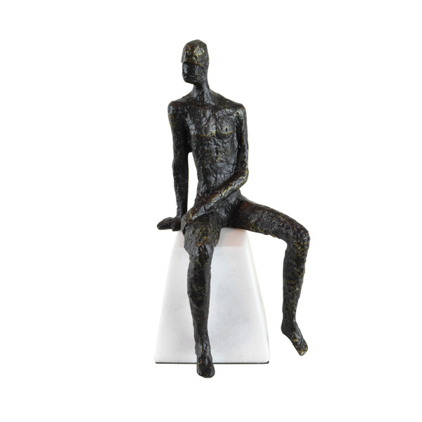Zinc Poser Sculpture - Home Accessories - 5mm Design Store London