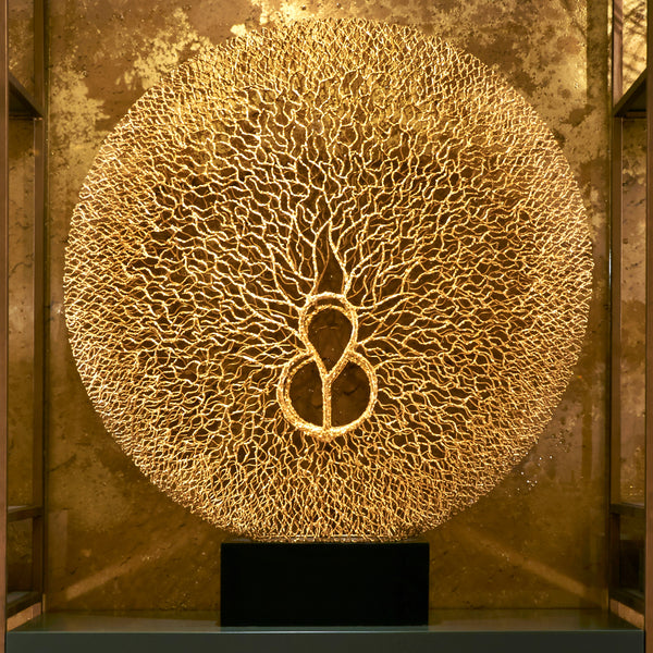 Gold Star Sculpture - Art & Home Accessories - 5mm Design Store London