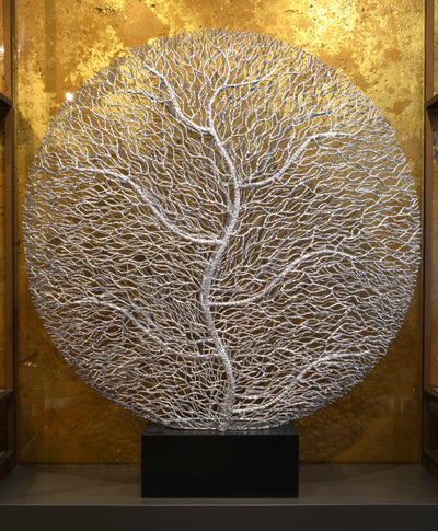 Silver Tree Roots Sculpture - Luxury Home Dècor - 5mm Design Store