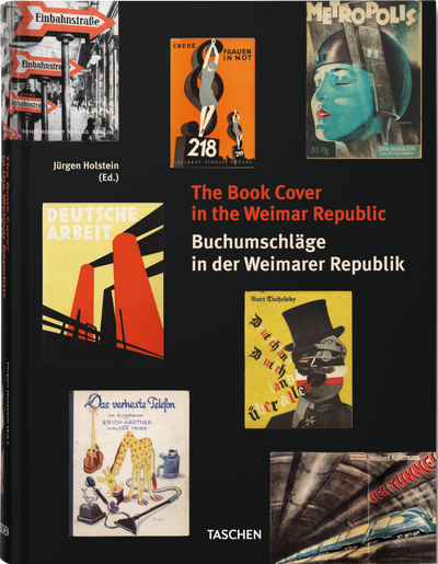 Book Cover in Weimar Republic - Design Book - 5mm Design Store London