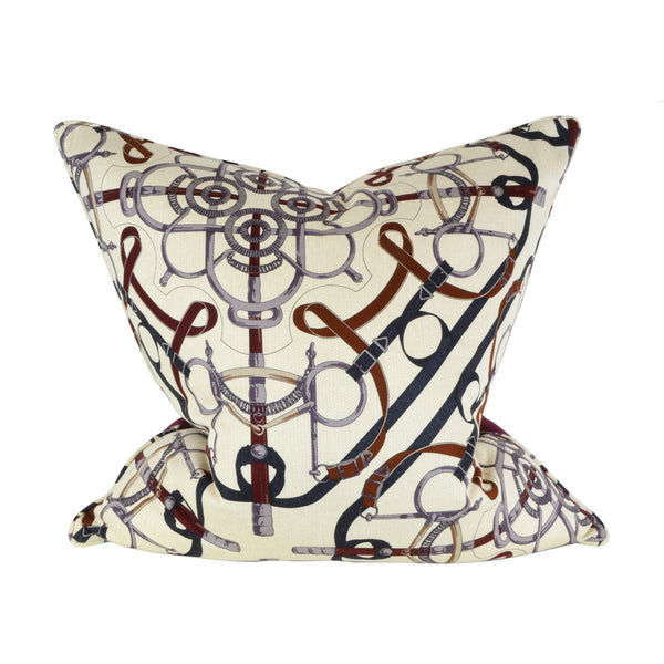Hermes Harness Cushion - Home Accessories  - 5mm Design Store London