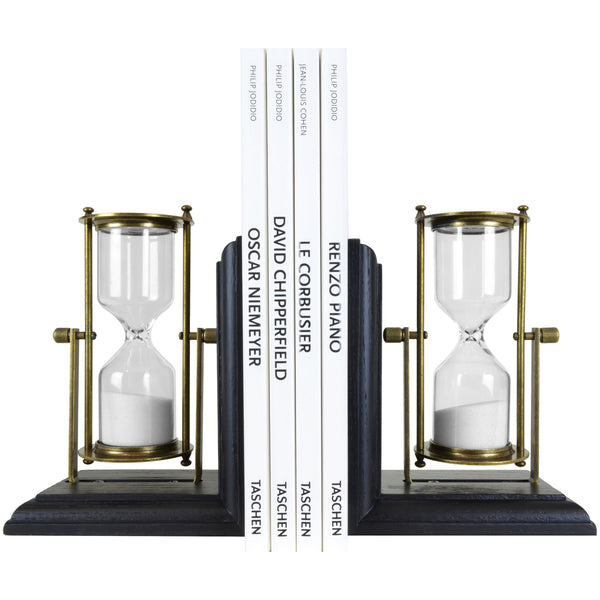 Sand Clock Bookends -Home Accessories & Decor- 5mm Design Store London