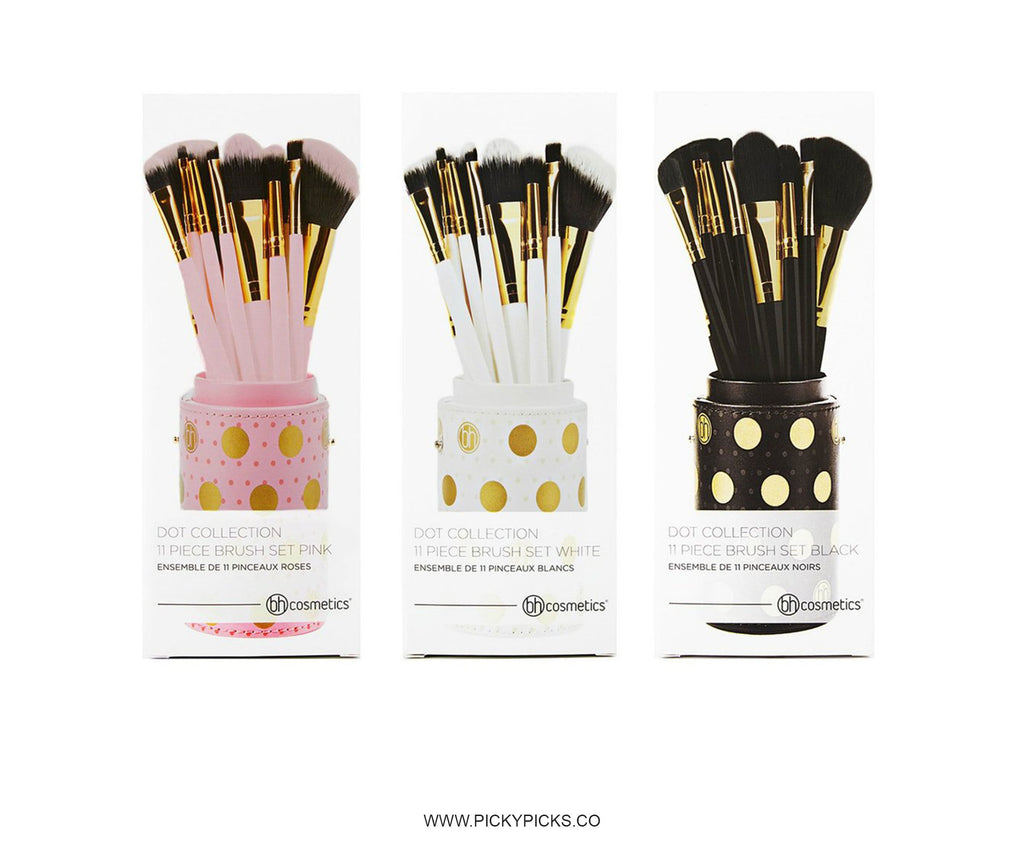 a56ea4eac072 BH Cosmetics Dot Collection - 11 Pieces Brush Set – PickyPicks