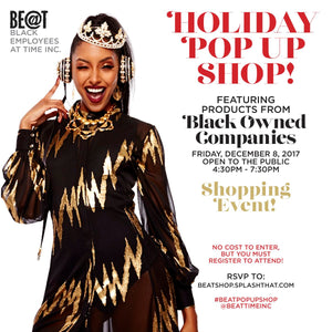 ESSENCE MAGAZINE - HOLIDAY 'POP UP SHOP!'