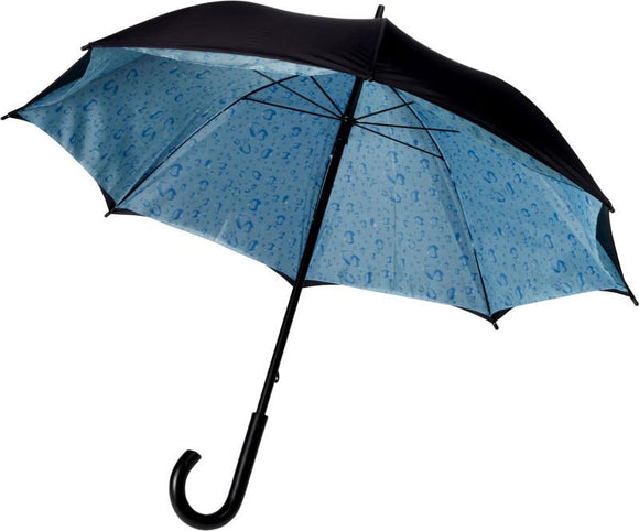 Double Layered Walking Umbrella with Clouds or Rain Drops - The Luxury Promotional Gifts Company Limited