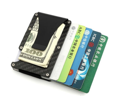 Carbon Fibre Slim Credit Card Holder