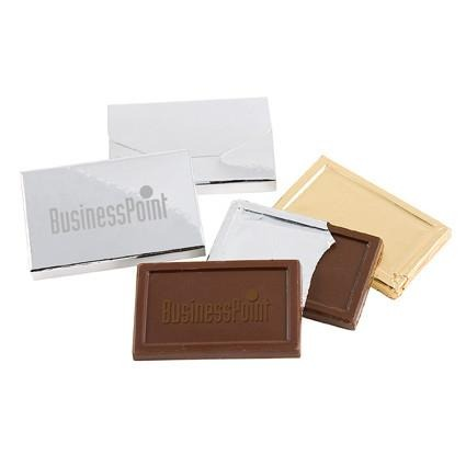 Embossed Belgian Chocolate 34g - The Luxury Promotional Gifts Company Limited