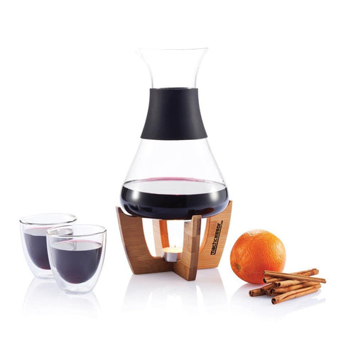 Mulled Wine Set with Glasses
