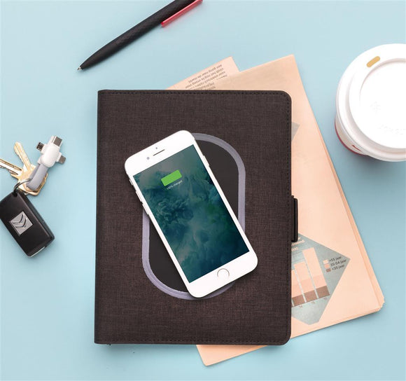 Air Wireless Charging Notebook Cover A5 - The Luxury Promotional Gifts Company Limited