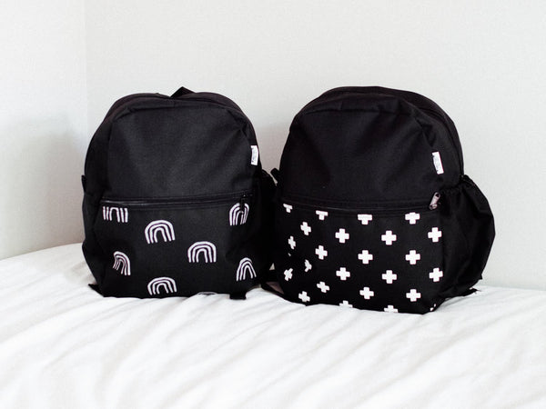 Printed Toddler Backpacks - Tiny Tribe Kids