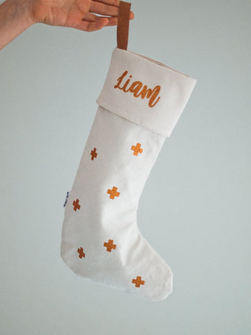 Custom printed Christmas stockings