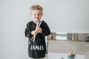 Customised Art Apron - Tiny Tribe Kids