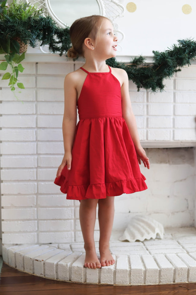 The Red Christmas Dress