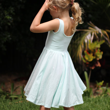 The Bella Dress in Ocean