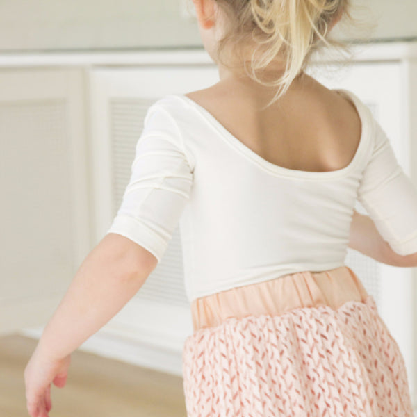 The Ballet Top in Cream