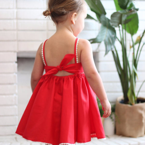 The Christmas Dress - Red