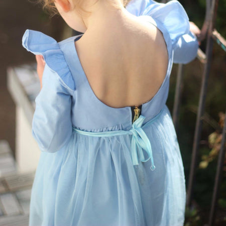 Flutter Overalls in Stone