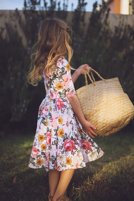 The Bella Dress in Sunshine