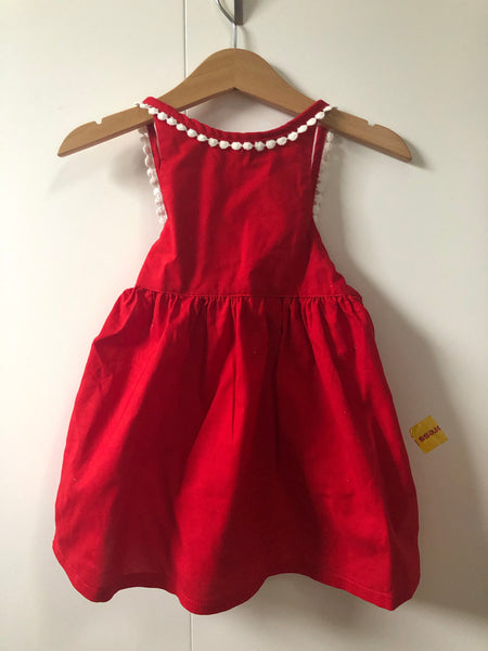 Red Christmas dress SIZE 1