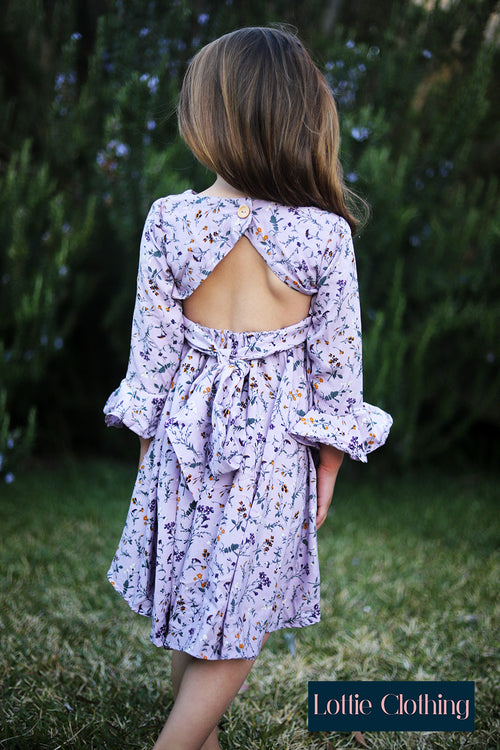 The Lola Dress in Lavender