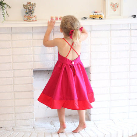 The Petal Tie-Back Dress