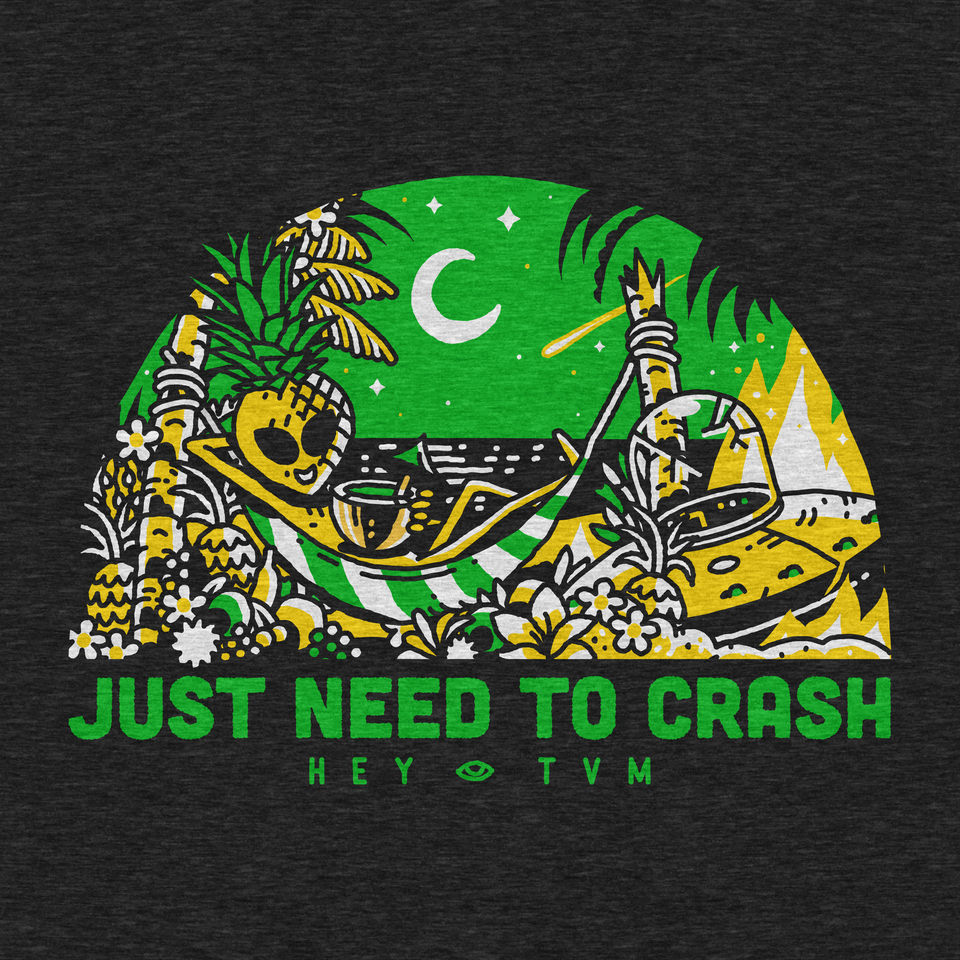 Just Need To Crash - black